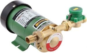Installing a water pressure booster