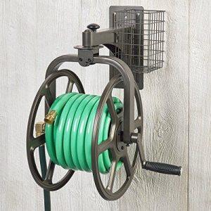 DIY Convenient Wall mounted Hose reel