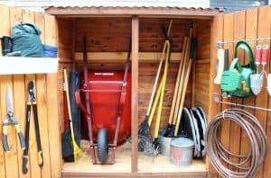 DIY Garden Hose Locker